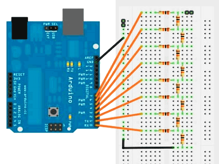 Arduino DAC Signal Generator project under Arduino Projects