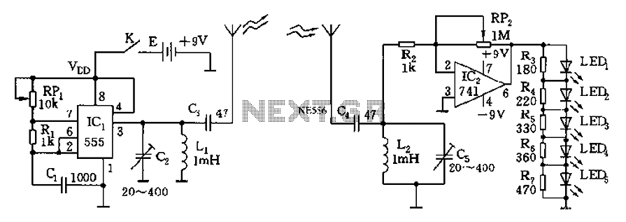 Other Circuits 555 Lm555 Ne555 Timer Circuits 555 Car Circuit
