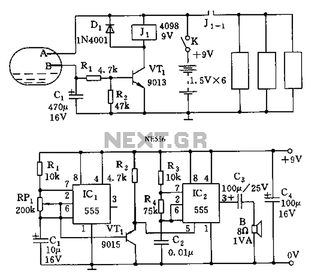 555 fall means a circuit diagram for help - schematic
