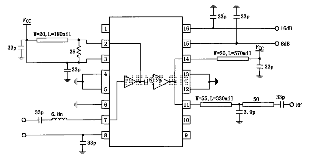Fantastic 915Mhz Power Amplifier Rf2155 Circuit Diagram Under Rf Amplifier Wiring Digital Resources Remcakbiperorg