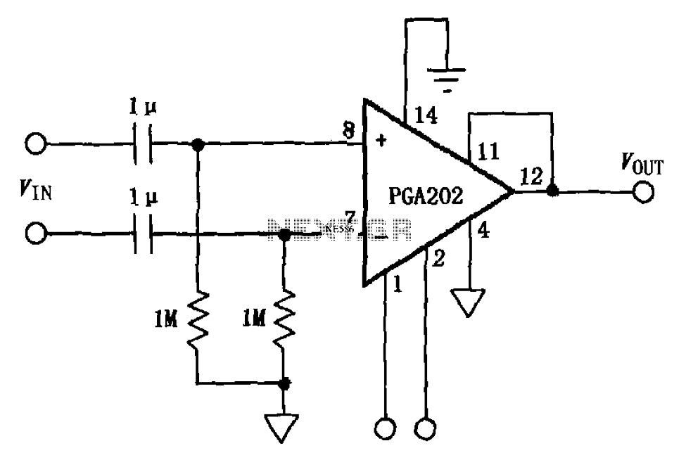 variable gain differential amplifier circuit composed of the a709results page 28, about \\u0027hf amplifier\\u0027 searching circuits at next grac coupled