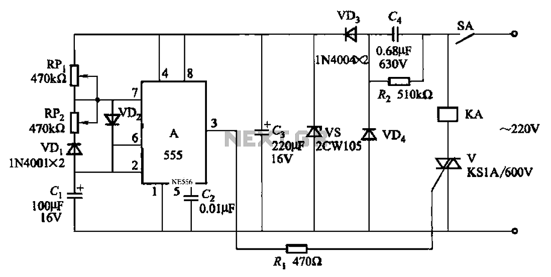 Automatic cycle switch circuit 2 - schematic