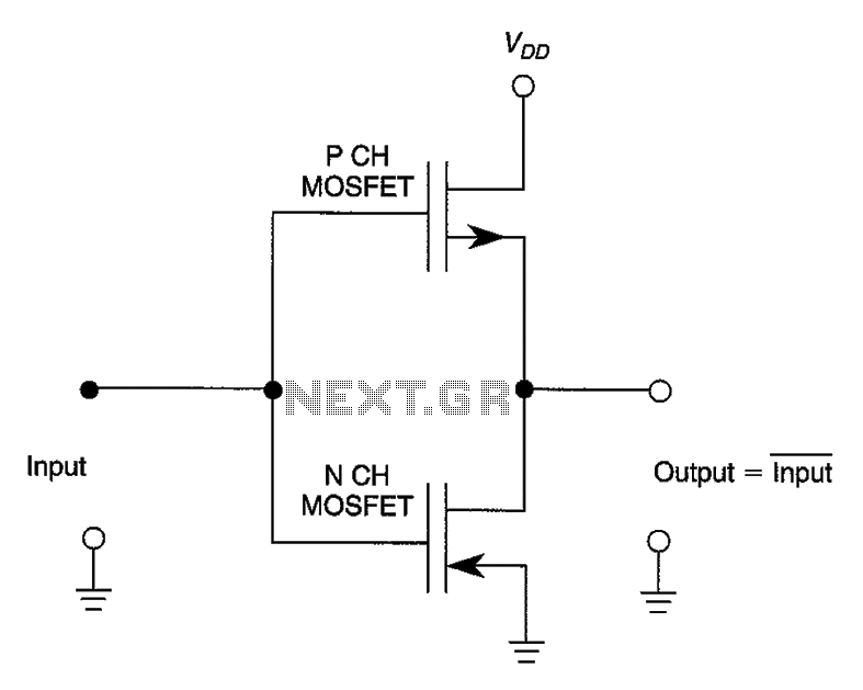 Digital Inverter - schematic