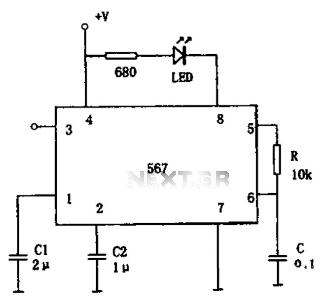 other circuits u003e demodulators u003e fm demodulator circuit diagram 567 rh next gr FM Transmitter Circuit Diagram FM Circuit Diagram Block