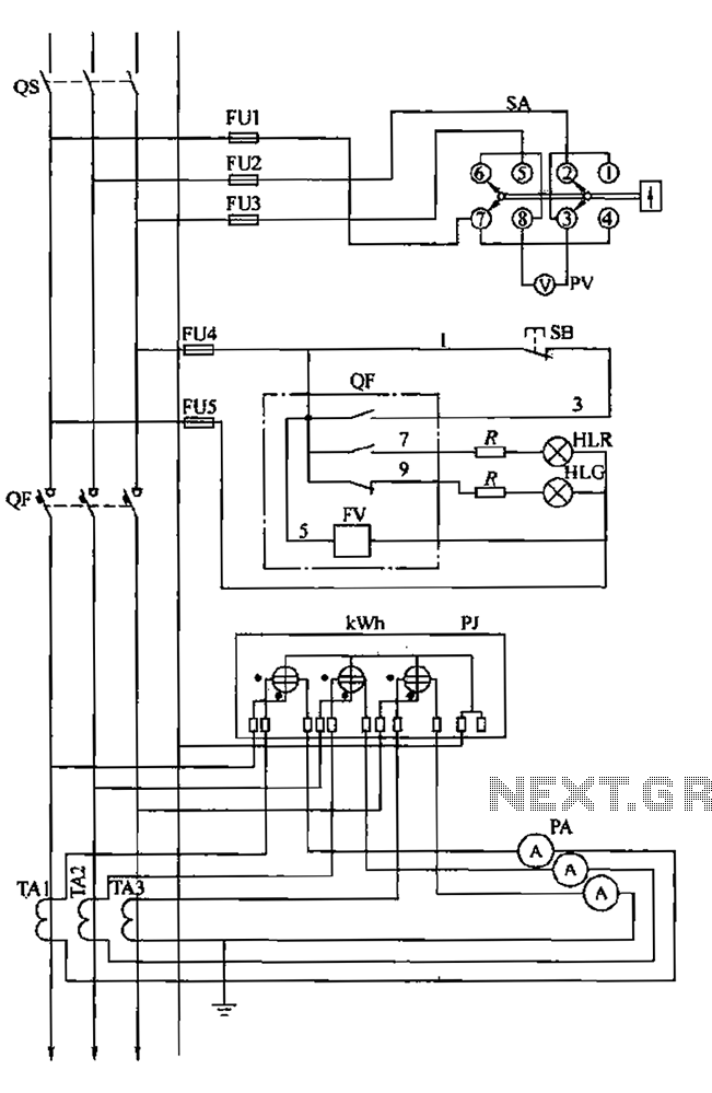 Factory secondary low voltage distribution electrical panel wiring diagram distribution box wiring diagram mcb wiring connection diagram Low Voltage Wiring Guide at nearapp.co