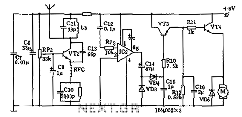 remote control circuit : Automation Circuits :: Next.gr on