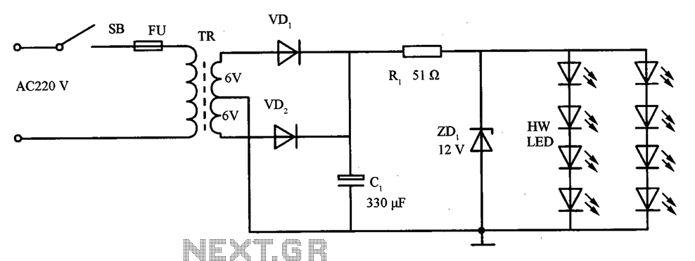 White led circuit diagram cheap led flasher circuit diagram with awesome led lights inside the circuit diagram schematic with white led circuit diagram swarovskicordoba Gallery