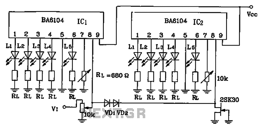 Fantastic Level Led Level Meter Display Driver Ic A Circuit Diagram Under Wiring Digital Resources Lavecompassionincorg