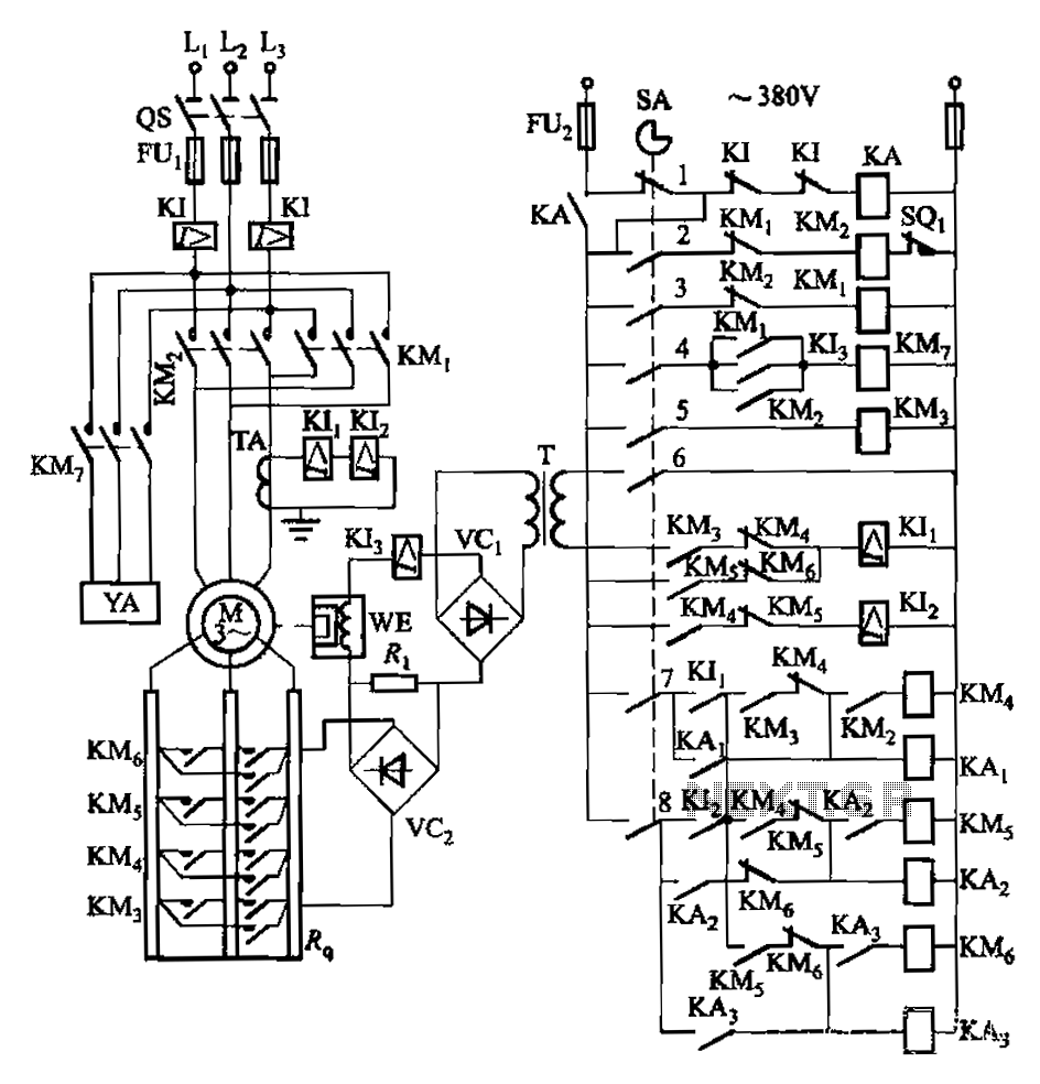 Automations Power Control Lift Circuit Attached To The Wall Schematic Engineering Diagram