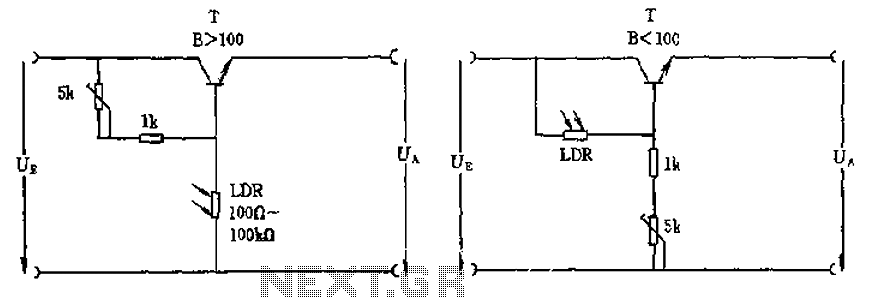 Exelent Ldr Light Sensor Circuit Ensign - Electrical Circuit Diagram ...