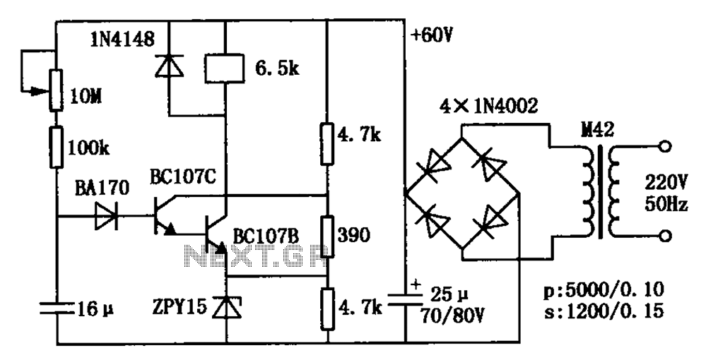 automations relay circuits Pull transistor relay delay circuit
