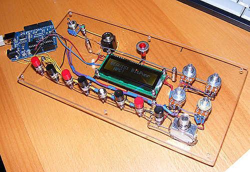 Arduino Punk Console - schematic
