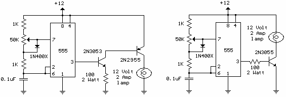 12 volt led dimmer schematic