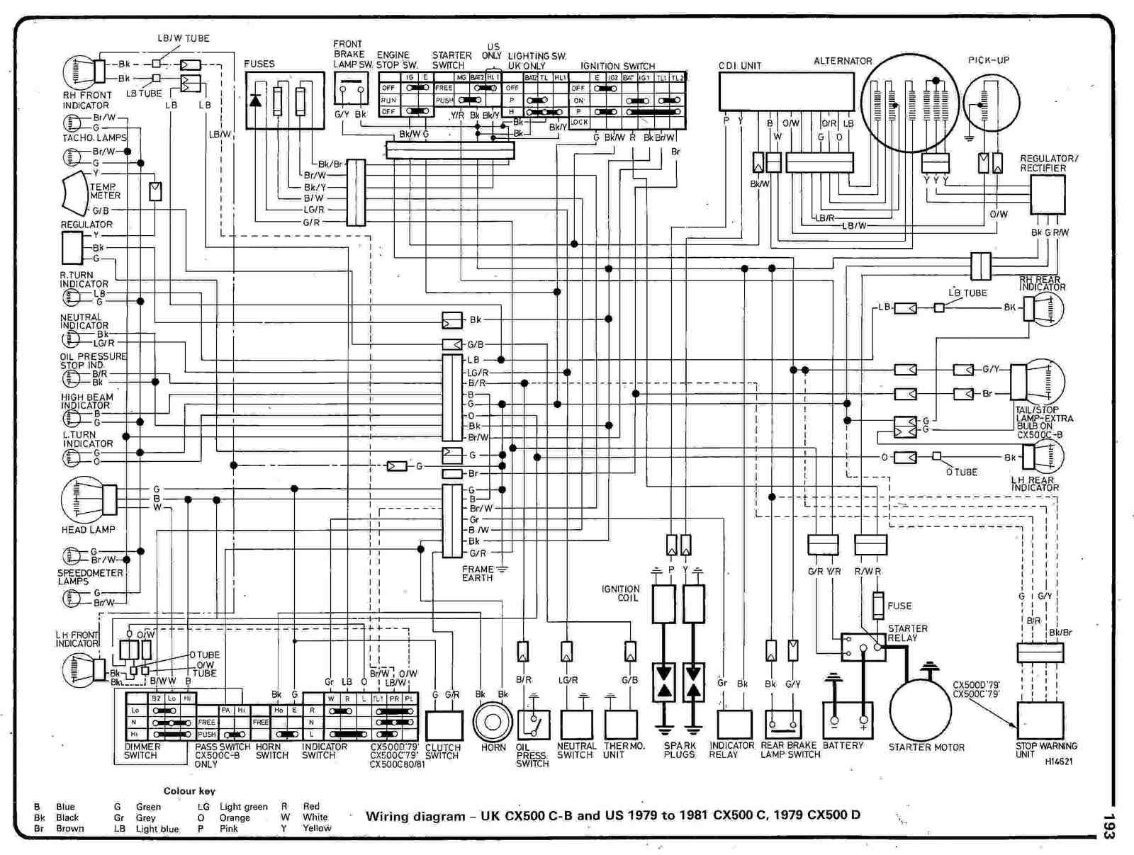 Honda Wiring Diagram Honda Atv Wiring Diagram Honda Wiring Diagrams