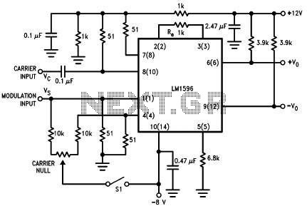 Schematic Diagram Ta8122 Am Fm Radio Receiver Circuit Audio Circuits - schematic