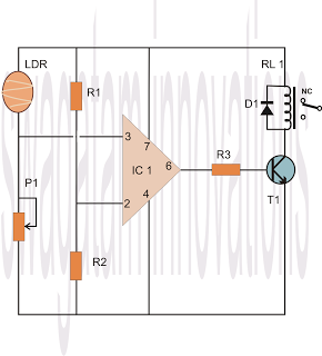 results page 290, about \u0027ic 4022\u0027 searching circuits at next grlight sensor circuit using ic 741