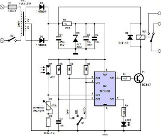 Voltage besides  on professional metal detector circuit