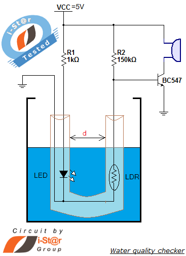 Circuits water quality checker project simple circuit for Simple wiring projects