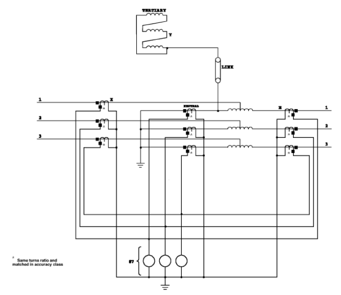 HIGH-IMPEDANCE RELAYS SCHEMATIC DIAGRAM - schematic
