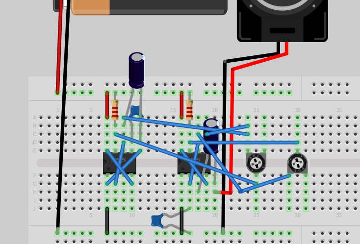 3 mode siren circuit with schematics - schematic