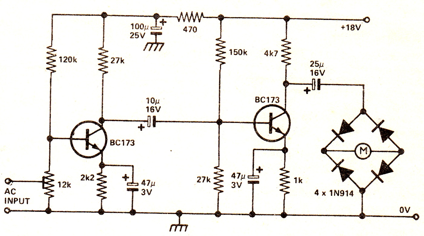 Results Page 8 About Passive Stereo Mixer Searching Circuits At Audio Preamplifiers Nextgr Recording Level Meter Circuit