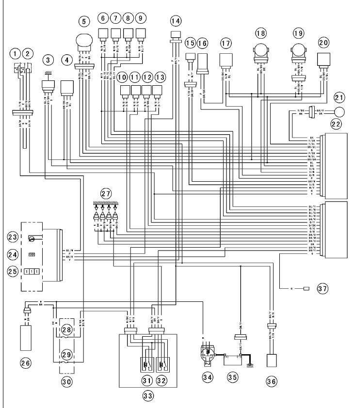 Wiring schematic for 2005 636 Kawasaki under Repository ...