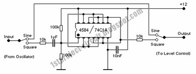 Modular Music Box Arduino polyphonic audio - schematic