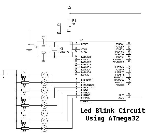 avr microcontroller circuit page 6   microcontroller