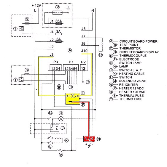 wiring diagram for rv ac and gas heat  u2013 readingrat net