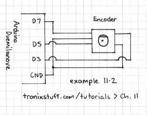 Modular Music Box - schematic