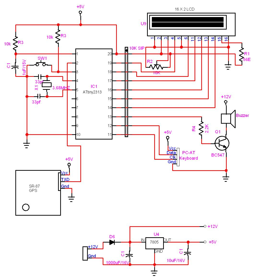Avr Microcontroller Circuit Page 4 Circuits Serial And Pic Programmer Gps Locator Using