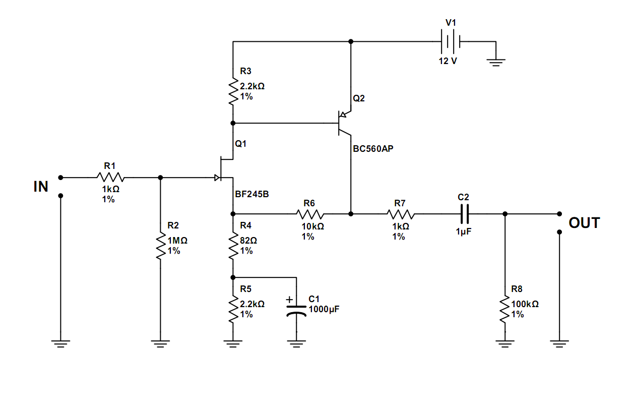Nand Gate Simple Circuit Smart Wiring Diagrams Diagram Audio Preamplifiers Circuits Page 10 Cmos And