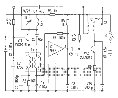 Novel FM receiver circuit diagram - schematic