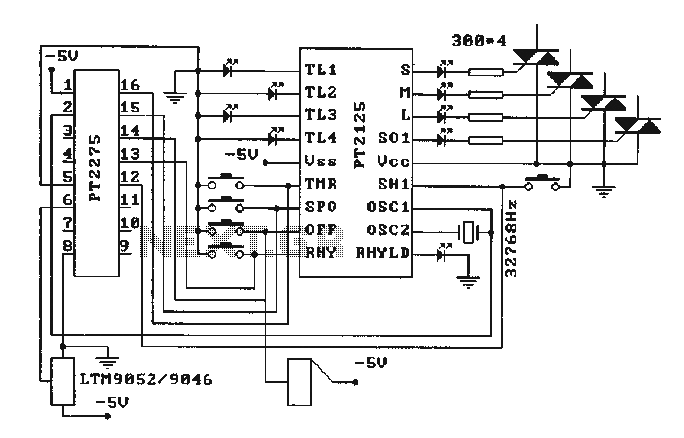 infrared    circuit    Page 2   Light Laser LED Circuits    Nextgr