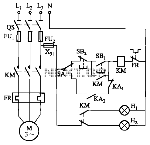 Control circuit of automatic water