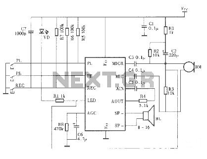 > rf > uhf circuits > wa4dsy 56kb rf modem l3661 - next.gr mega phone wiring diagram