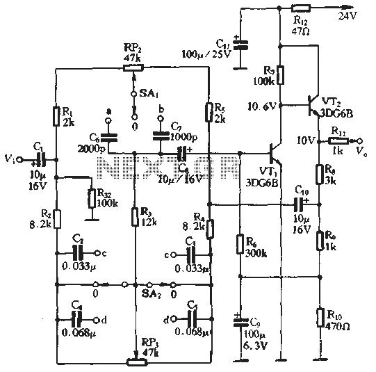 317263174317 audio tone balance circuit audio circuits next gr,Tone Pot Capacitor Wiring Diagram