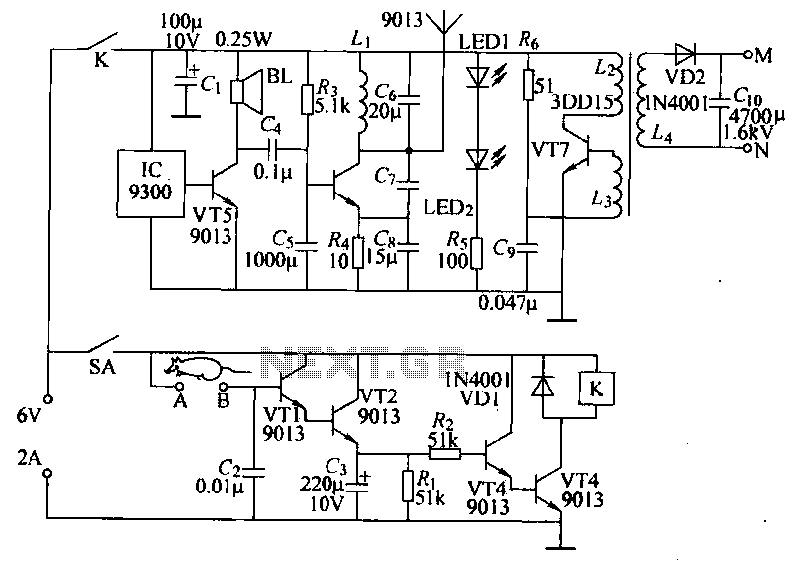 Cool Electronic Mousetrap Power Saving Circuit Under Power Control Wiring 101 Akebretraxxcnl