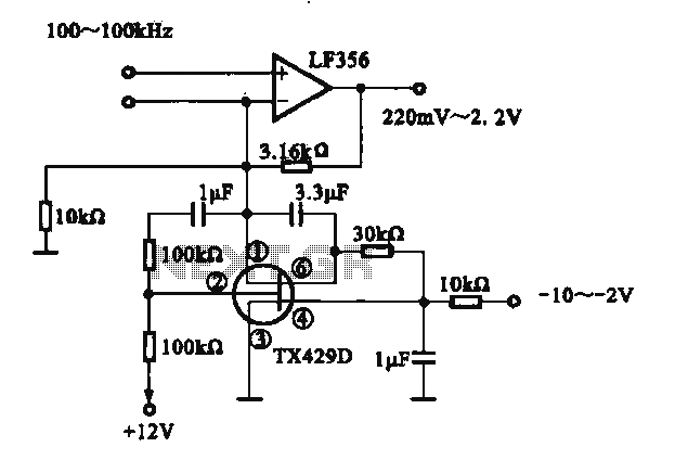 Variable gain amplifier circuit