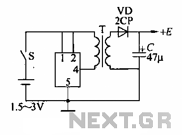 A DC power supply boost circuit