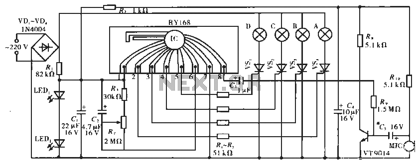 Lighting controller circuit - schematic