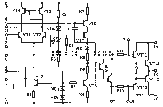 STK4040x1 made HI-FI amplifier circuit