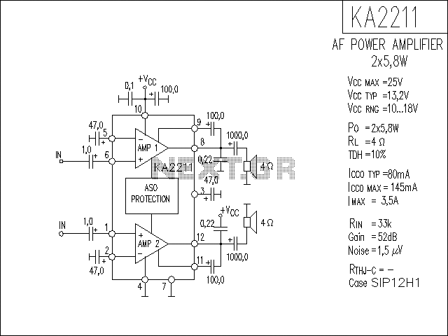 audio amplifier circuit page 6   audio circuits    next gr