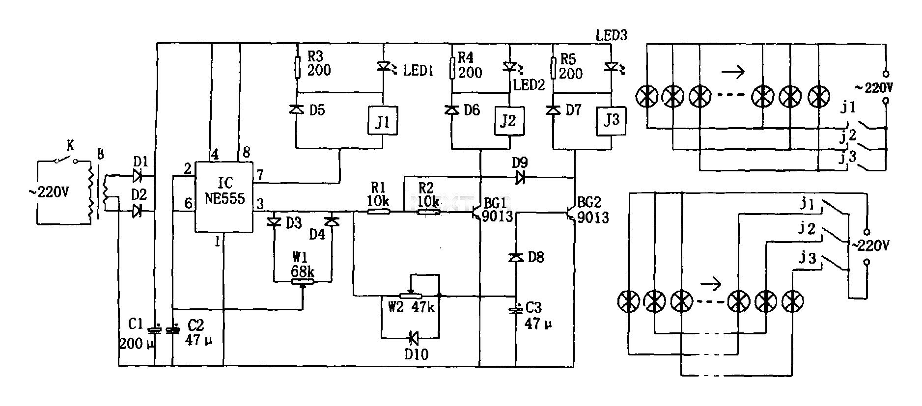 sensor radiation circuit   sensors detectors circuits