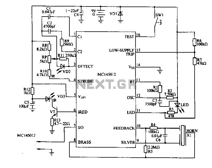 alarm circuit page 3   security circuits    next gr