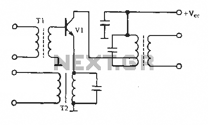Emitter circuit AM - schematic