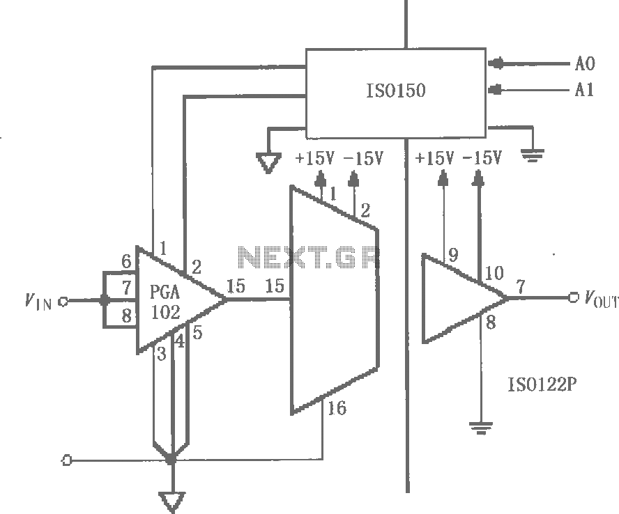 u0026gt  other circuits  u0026gt  iso122 124 and pga102 isolated channel has a programmable gain circuit