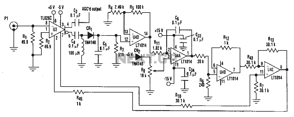 IF AGO network circuit diagram