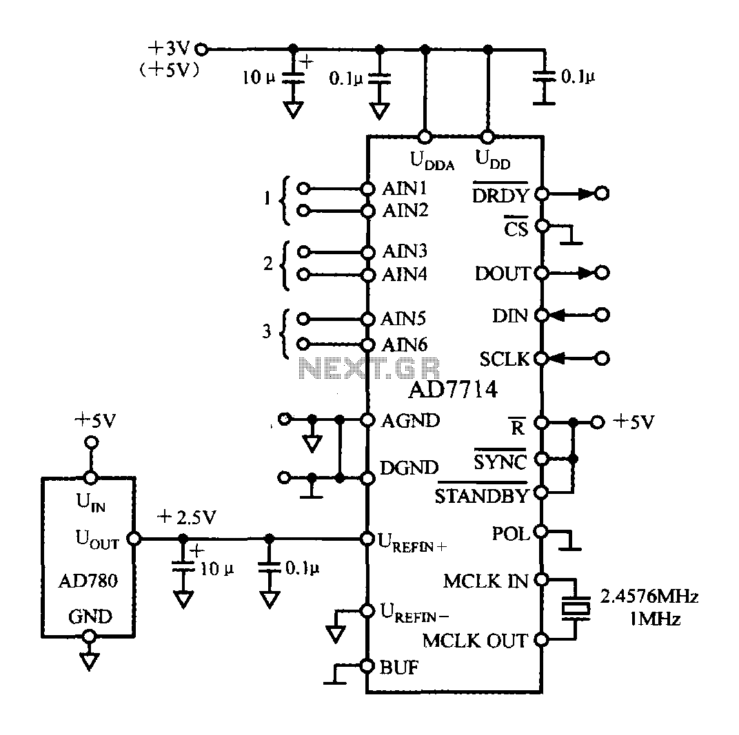 5-channel low-power programmable sensor signal processor with AD7714 circuit