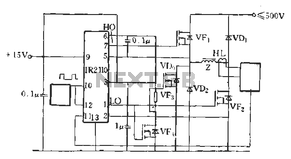 IR2110 for forward inverter system schematic - schematic